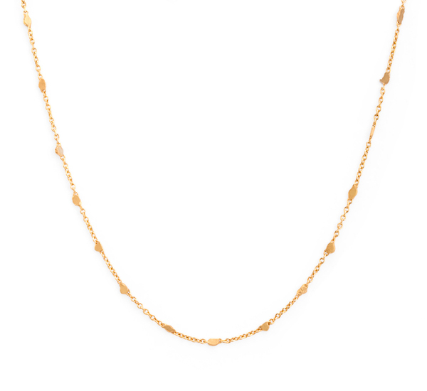 Satomi Kawakita N4202 18K Little Fleck Necklace