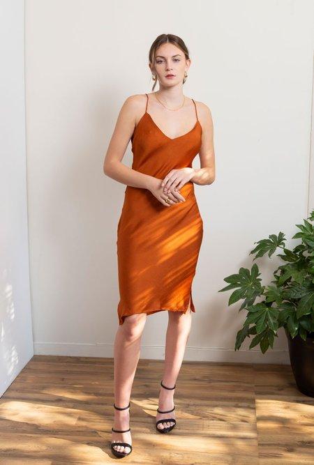 Azalea Sadie Dress - Clay