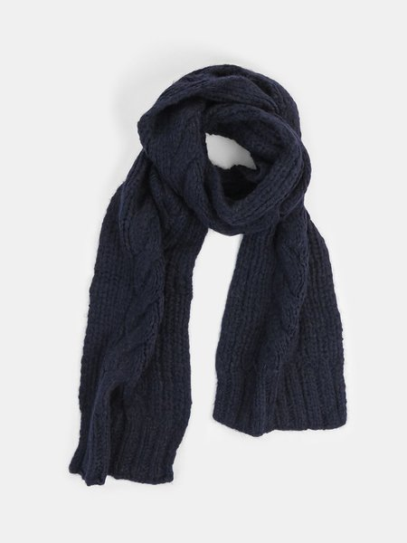 Erica Tanov cable scarf - navy