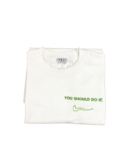 House Of 950 Embroidery Tee Shirt - You Should Do It