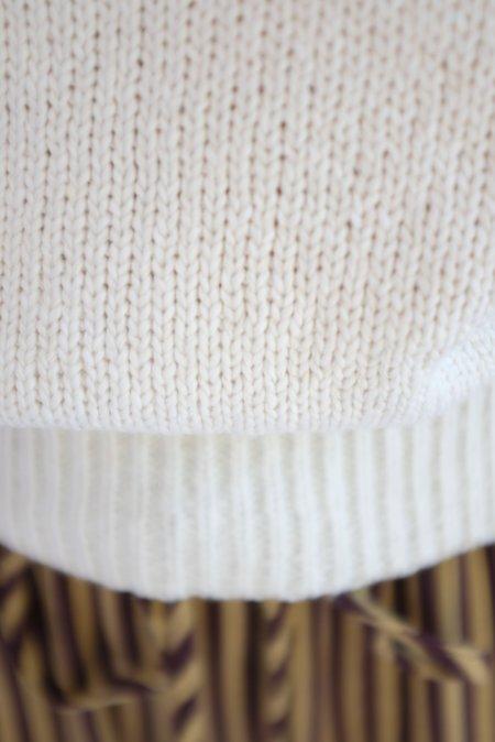 Beklina Knit Polo - Ivory