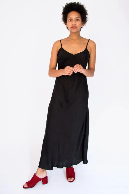Bhoomki Silk Crepe Slip Dress