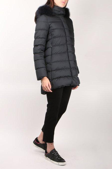Herno Down Coat w/ Fox Fur Hood