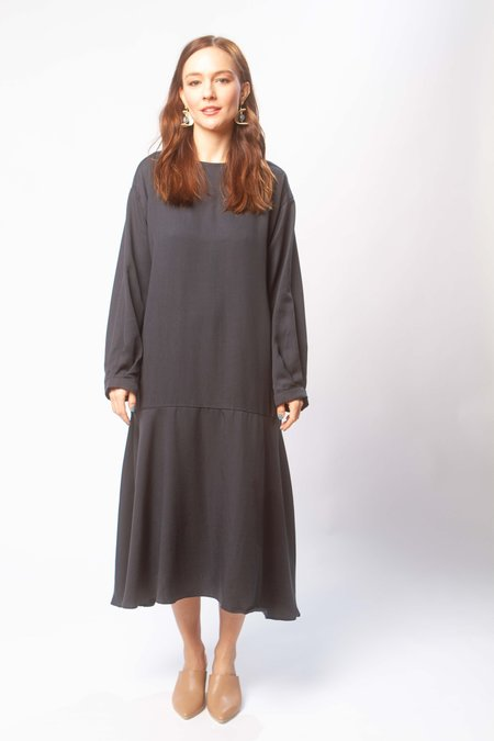 Micaela Greg Luca dress - midnight