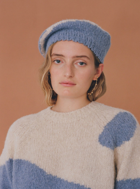 Paloma Wool Tere Beret in Blue