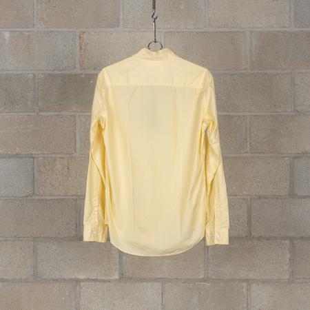 PEEL & LIFT Pinned Collar Shirt - Hairline Yellow