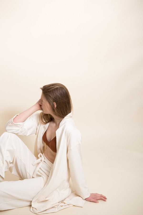 Pansy Robe / Natural