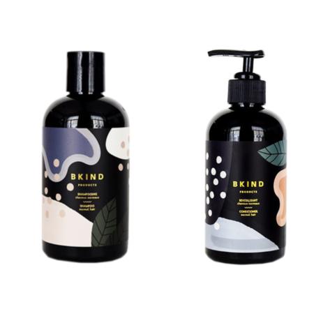 Bkind Mandarin & Juniper Berries Shampoo Conditioner Set