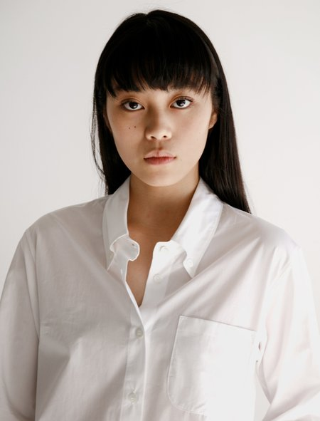 Hache Small Shirt - Poplin White