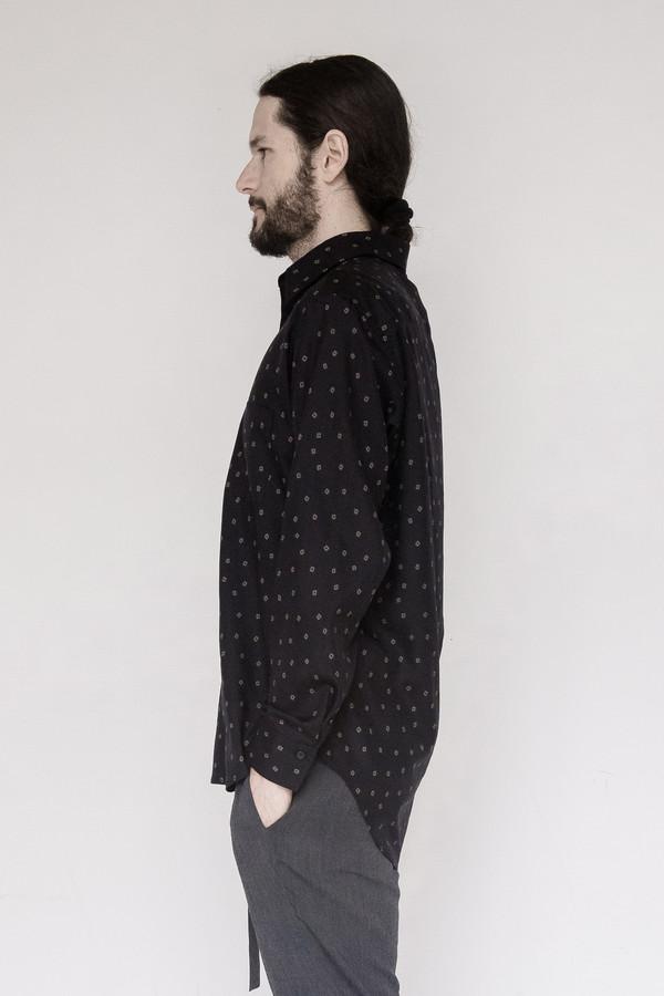 David Michael Tencel Print Dress Shirt