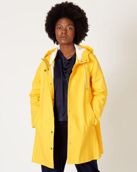 Unisex Stutterheim Mosebacke raincoat - Yellow