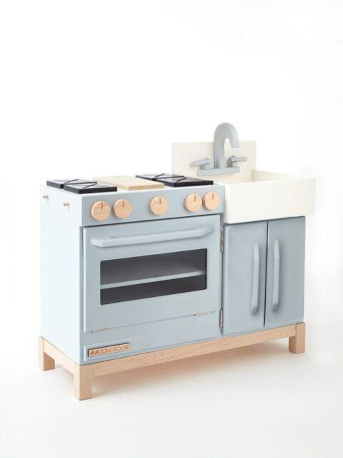 kids MILTON & GOOSE The Essential Play Kitchen - Grey