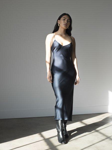 Pari Desai Sandoval Slip Dress - Midnight Navy