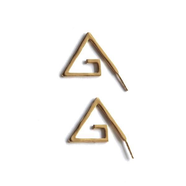 Alynne Lavigne - Medium Spiral Earrings