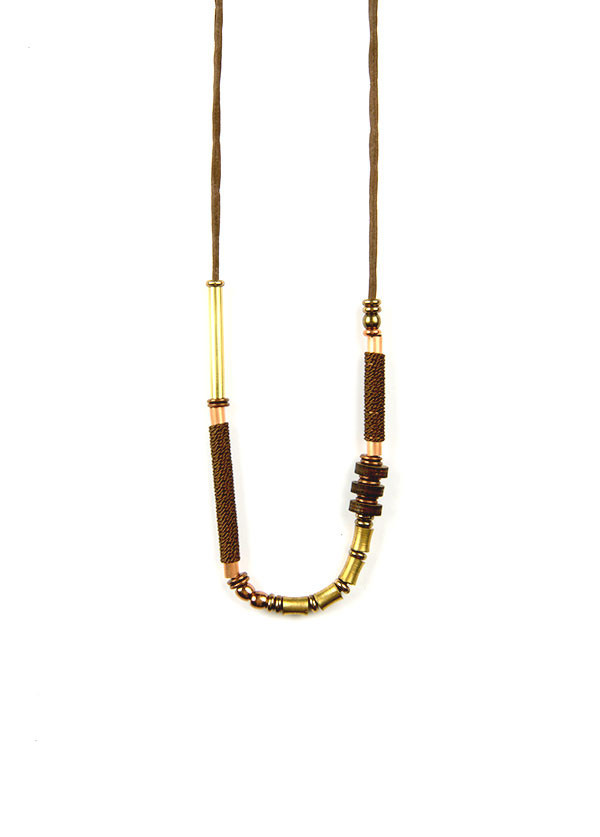 Henderson Dry Goods - Silk and Bead Necklace