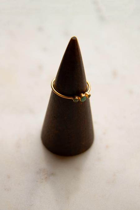 Jane Diaz NY Three Stone Ring