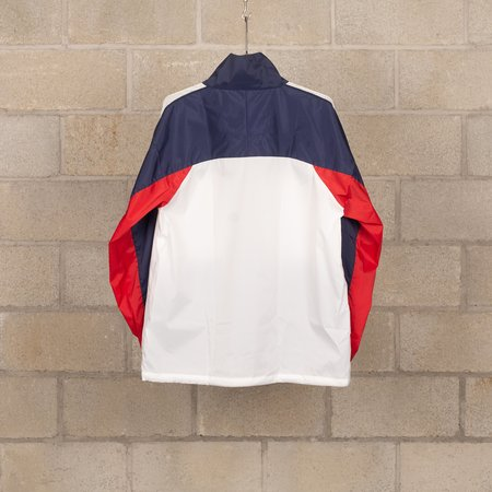 Meanswhile Ventilate Track Jacket - Navy/White