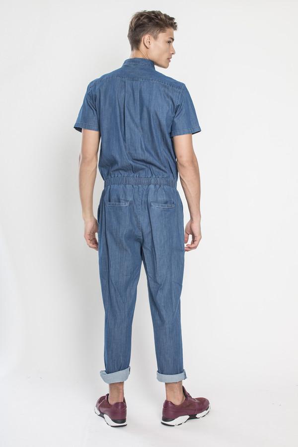 Unisex Standard Issue jumper in Medium Blue