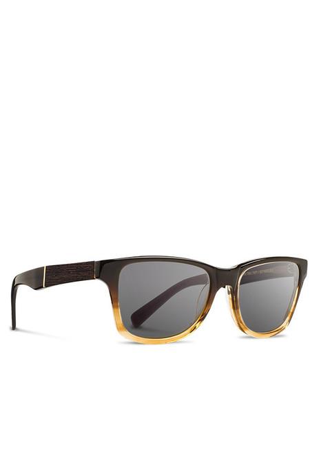 Unisex Shwood Canby Polarized Sunglasses - Sweet Tea Elm