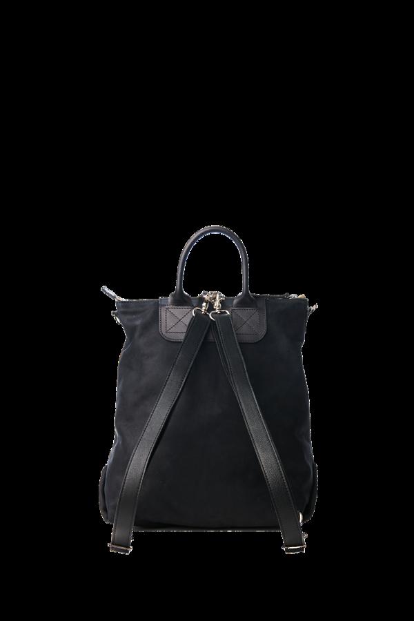 Bedford convertible Backpack black nubuck