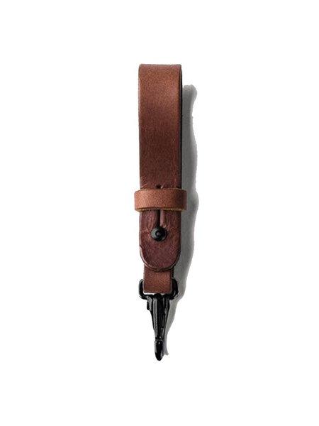 Tanner Goods Key Lanyard - Cognac/Black Hardware