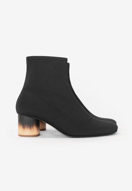 Sydney Brown Scuba Low Wood Lava Boots