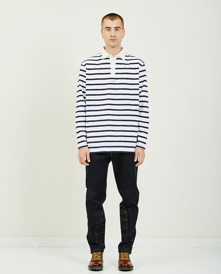 Band of Outsiders Rugby Polo Shirt - navy