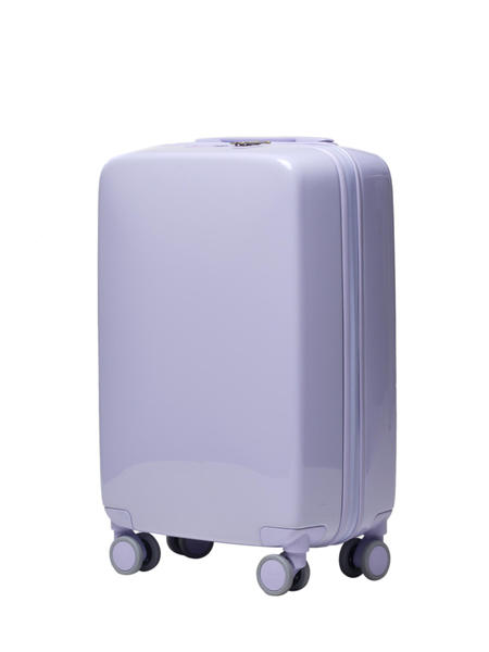 RADEN A22 luggage - Light Purple Gloss