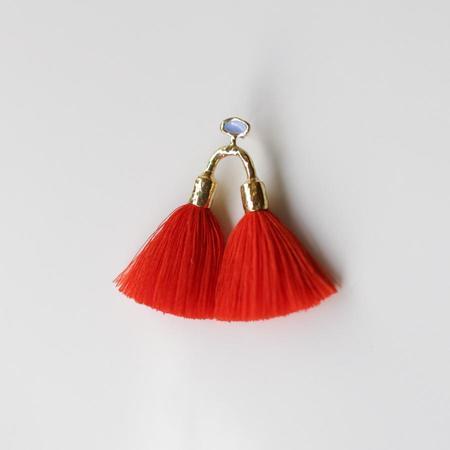 Ora-C Aria Earrings - Paprika