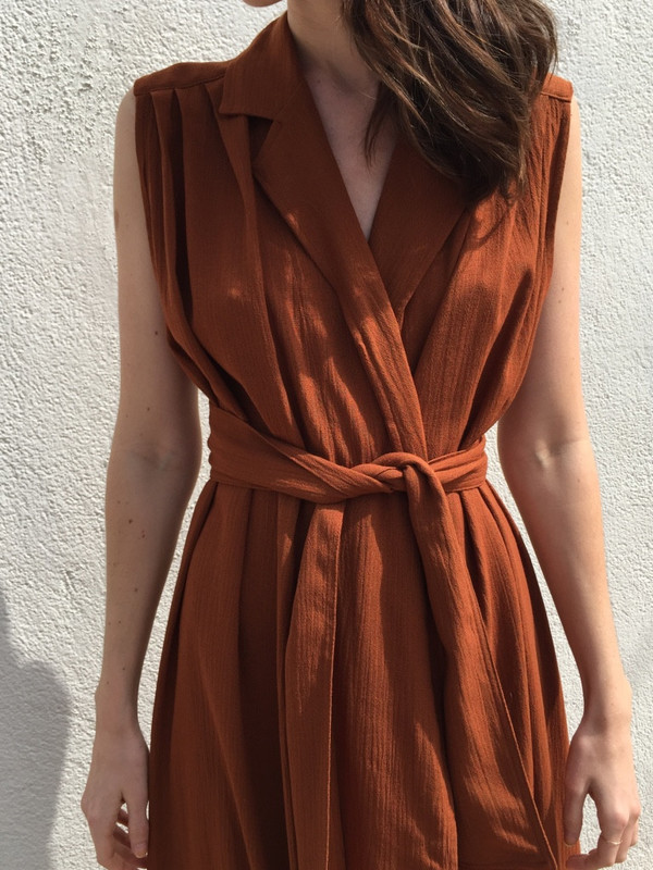 OR Maxi Vest with Belt
