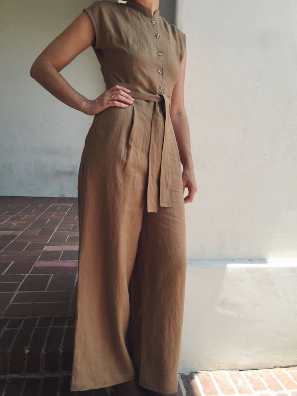 OR Wide Leg Jumpsuit