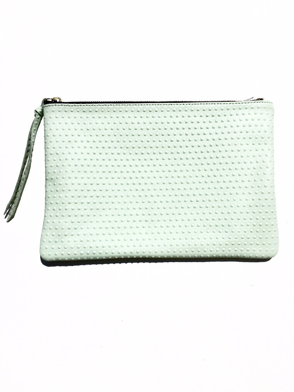 OLIVEVE queenie in mint divot cow leather