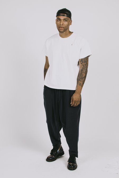 l'equip Back Panel Tee - White