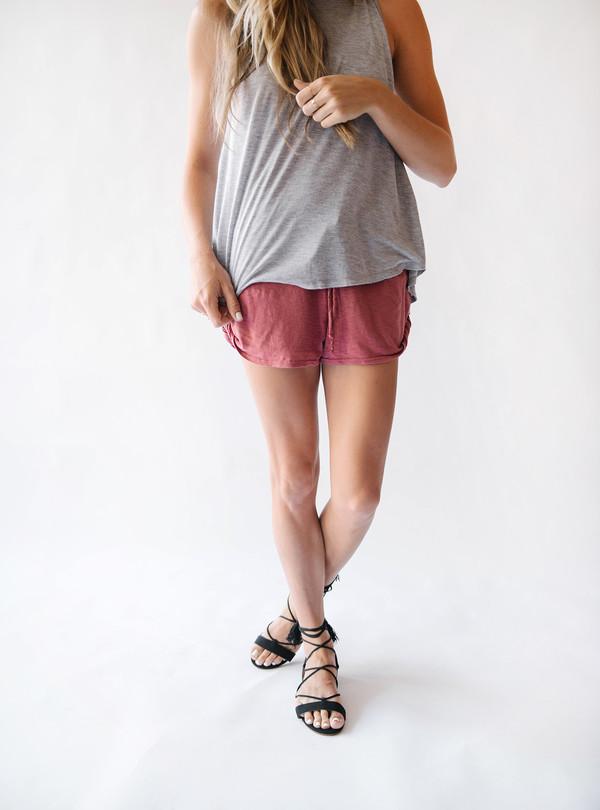 LA Made Demi Shorts Rose