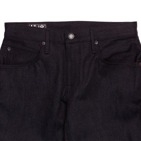 Freenote Cloth Avila Slim Taper Jeans - 14.25 oz Black Grey Denim