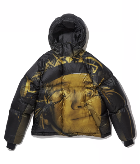 """UNDERCOVER """"UCX4205-1"""" Down Jacket - black/yellow"""