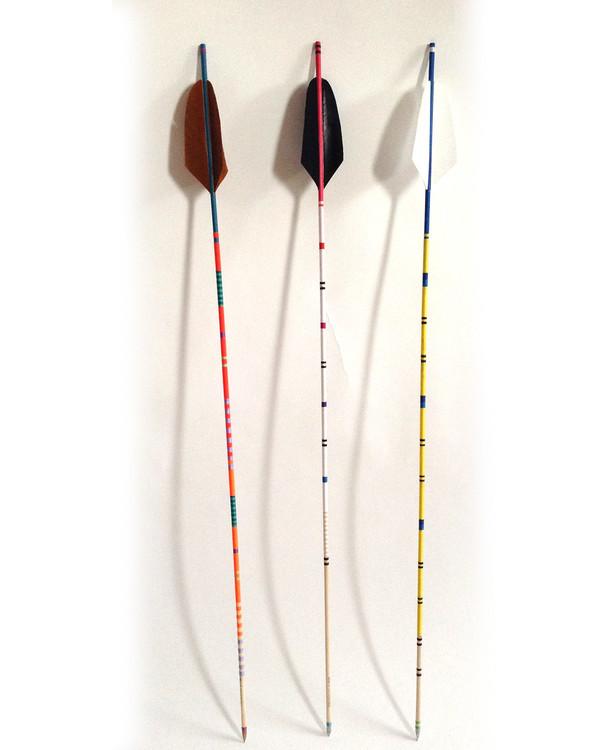 Fredericks & Mae Brown Feather Arrow