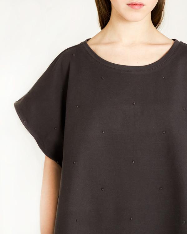 Revisited Matters Knots Sweatshirt in Asphalt