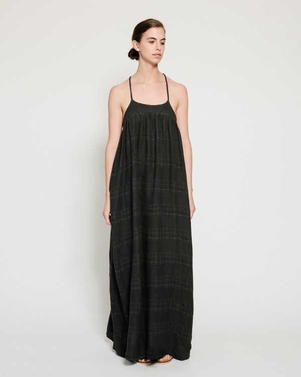 Nico Nico Mitchell Textured Dress in Liquorice