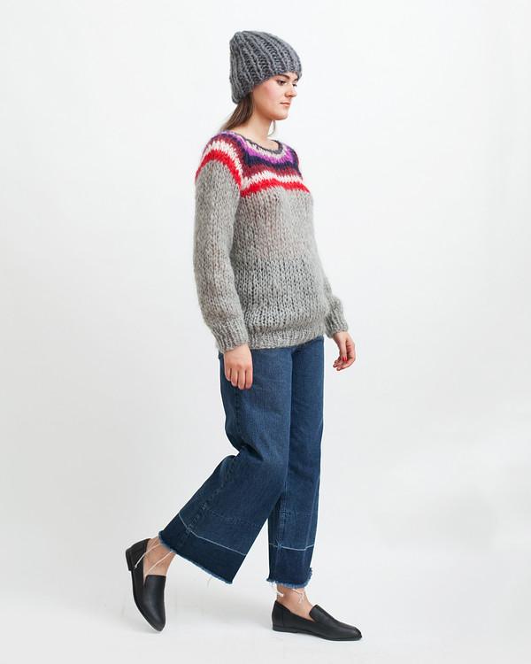 Maiami Mohair Campus Sweater