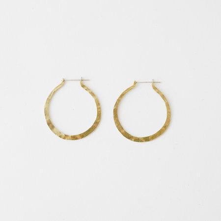 Crescioni kiva earrings - Brass/Silver