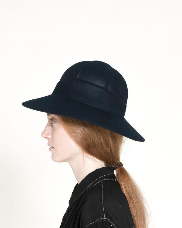 Clyde Safari Hat in Navy