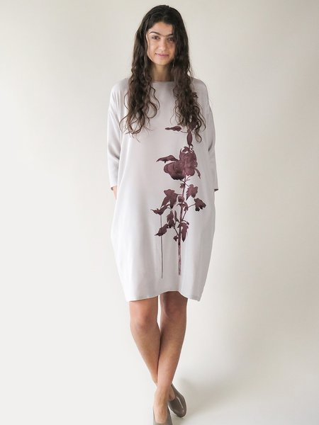 Erica Tanov ines dress - ink floral