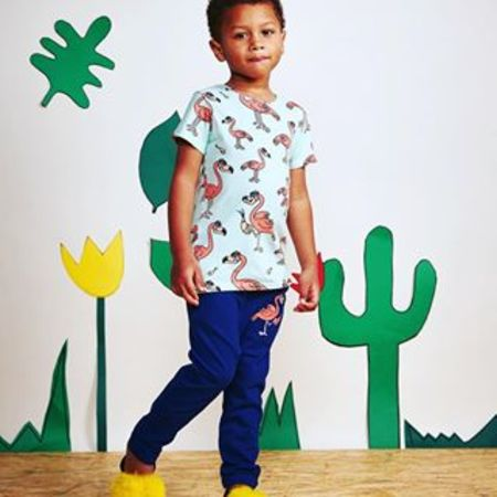 KIDS TAO & FRIENDS Flamingo T shirt and Sweatpant set
