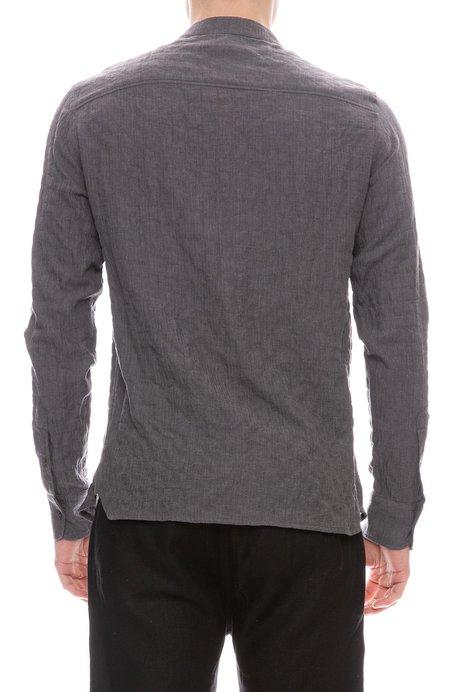 A Vested Interest Banded Collar Shirt