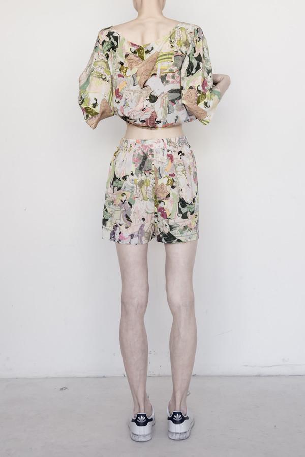 Strathcona Silk Japanese Lover Short