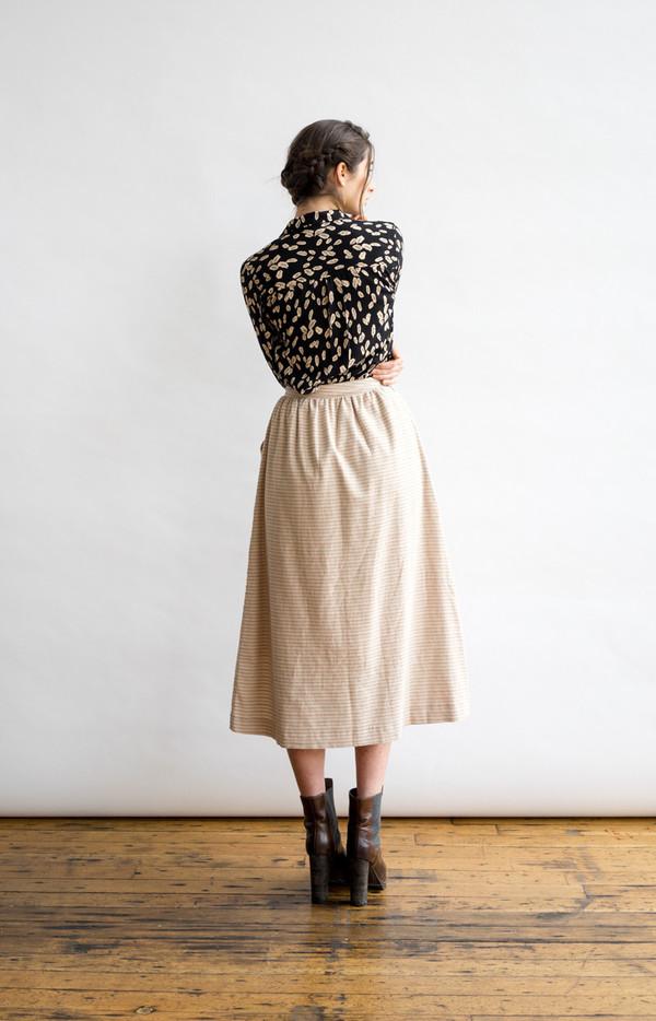 Bridge & Burn Lily Stripe Skirt