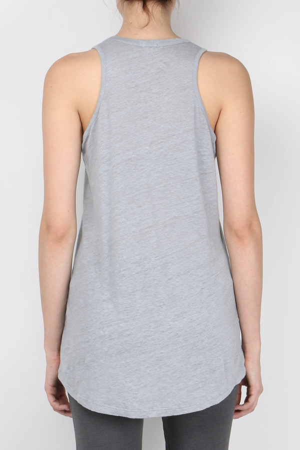 Monrow Basic Linen Tank