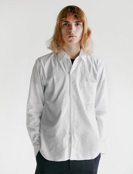 Comme des Garçons Homme Deux Cotton Broad Shirt - White