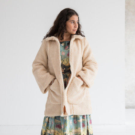 Samantha Pleet Willow Coat Faux Shearling